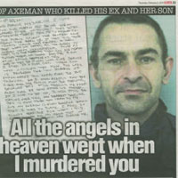 Double Axe Murderer's Diaries (The Sun)