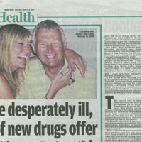 Human Drug Trials (Daily Mail)