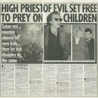 Satanic Paedophile Exposé (News of the World)