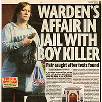 Sunday Mirror Exclusive Warden's Affair With Killer